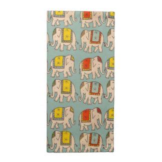 Modelo lindo del elefante de los elefantes del cir servilleta imprimida