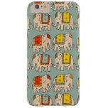 Modelo lindo del elefante de los elefantes del funda de iPhone 6 plus barely there