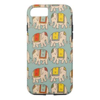 Modelo lindo del elefante de los elefantes del funda iPhone 7