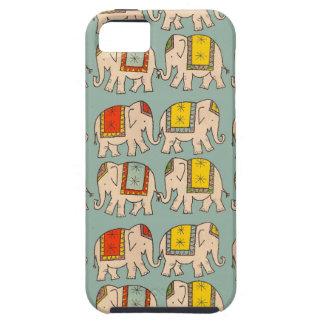 Modelo lindo del elefante de los elefantes del iPhone 5 carcasas