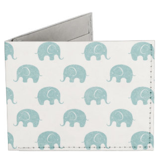 Modelo lindo del elefante del trullo billeteras tyvek®