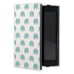Modelo lindo del elefante del trullo iPad mini protector