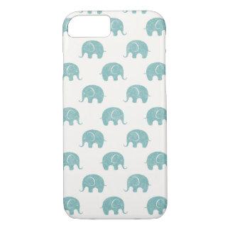 Modelo lindo del elefante del trullo funda iPhone 7