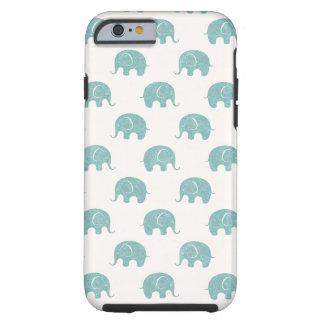 Modelo lindo del elefante del trullo funda resistente iPhone 6