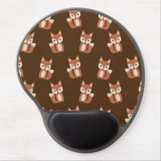 Modelo lindo del estampado de animales del Fox del Alfombrillas Con Gel