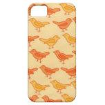 modelo lindo del pájaro iPhone 5 Case-Mate cárcasa