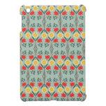 Modelo lindo elegante rústico floral del fairisle  iPad mini fundas