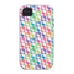 modelo lindo Nápoles la Florida del pelícano Case-Mate iPhone 4 Funda