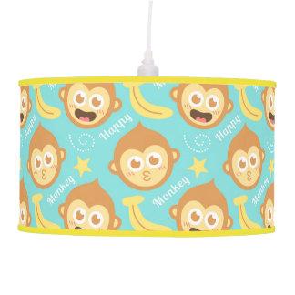 Modelo lindo y colorido del mono para el sitio de