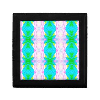 Modelo linear del extracto moderno vibrante de los joyero cuadrado pequeño