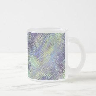 Modelo líquido azul de Tanzanite Tazas De Café