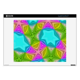 Modelo loco del color portátil calcomanía