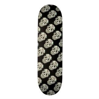 Modelo loco del cráneo skateboard