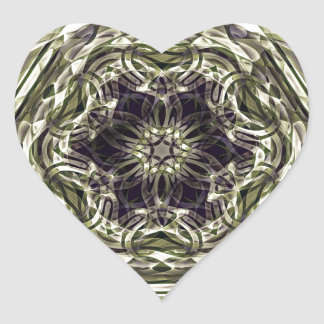 Modelo mágico medieval pegatina corazon