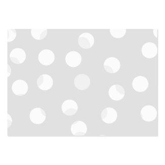 Modelo manchado gris claro y blanco tarjetas de visita grandes
