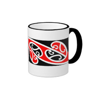 Modelo maorí 2 de Kowhaiwhai - taza