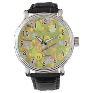 Modelo maravilloso de los años 70 reloj