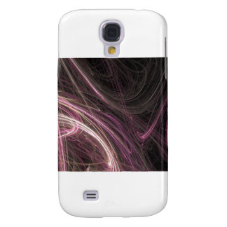 Modelo maravilloso de Starburst del flujo rosado d Funda Para Galaxy S4