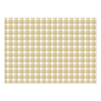 Modelo marrón claro del control. Guinga beige Tarjetas De Visita Grandes