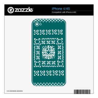 Modelo marroquí de la linterna iPhone 4S skins