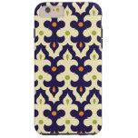Modelo marroquí del arabesque de Paisley del Funda De iPhone 6 Plus Tough