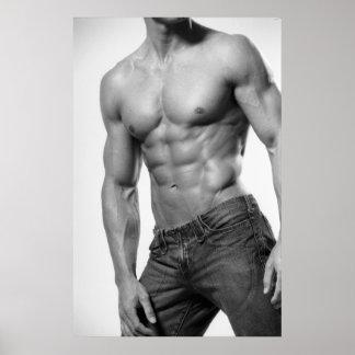 Modelo masculino de la aptitud en el poster #8899