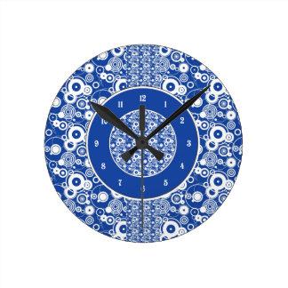 Modelo mecánico de los círculos reloj redondo mediano