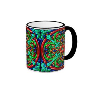 Modelo metálico #7 taza de dos colores