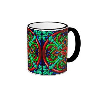 Modelo metálico #8 taza de dos colores