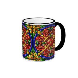 Modelo metálico #9 taza de dos colores