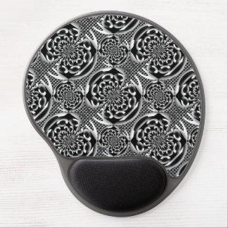 Modelo metálico de la malla alfombrilla para ratón de gel