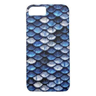 Modelo metálico de las escalas de pescados del funda iPhone 7