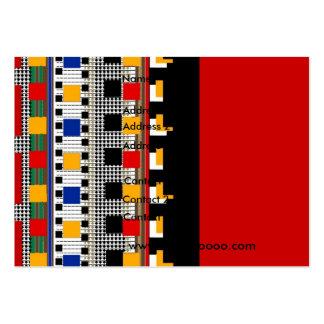 Modelo mexicano del negocio de la tarjeta del perf tarjetas de visita grandes