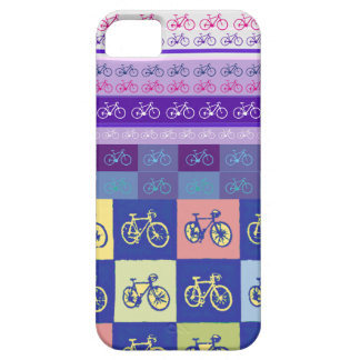 modelo mezclado de la bici iPhone 5 funda