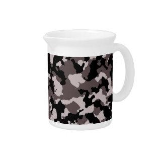 Modelo militar del camuflaje de Brown Jarra Para Bebida