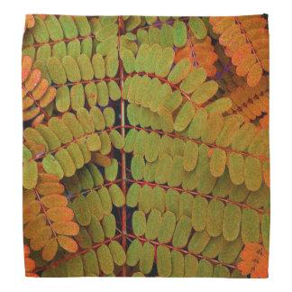 Modelo minúsculo de las hojas bandana