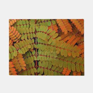 Modelo minúsculo de las hojas felpudo