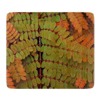 Modelo minúsculo de las hojas tabla de cortar