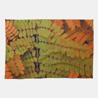 Modelo minúsculo de las hojas toalla de mano