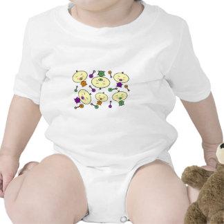 Modelo minúsculo del bebé de los bebés trajes de bebé