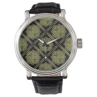 Modelo místico de piedra del símbolo reloj de mano