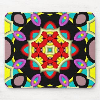 Modelo moderno abstracto colorido alfombrillas de ratón