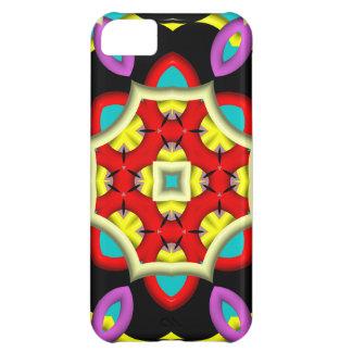 Modelo moderno abstracto colorido funda para iPhone 5C