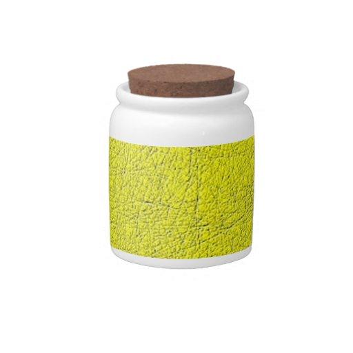 modelo moderno amarillo plato para caramelo