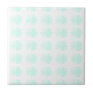 Modelo moderno apenado del copo de nieve del azulejo cuadrado pequeño
