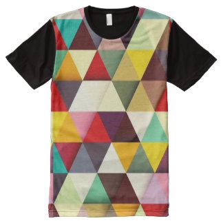 Modelo moderno colorido del triángulo