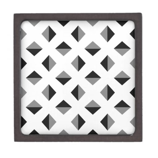 Modelo moderno de la ilusión óptica caja de recuerdo de calidad