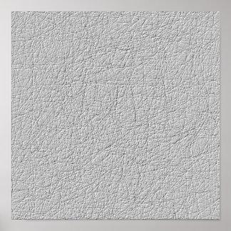 Modelo moderno de la textura gris póster
