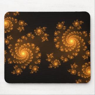 Modelo moderno de Mandelbrot del arte del fractal  Tapetes De Ratones