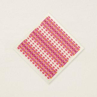 Modelo moderno del hogar agradable servilletas de papel